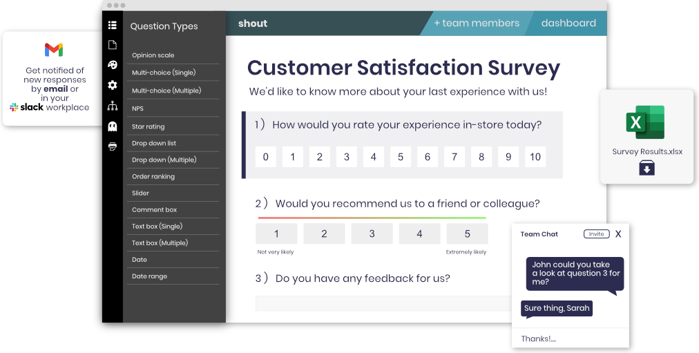 A Survey Maker For Individuals And Teams