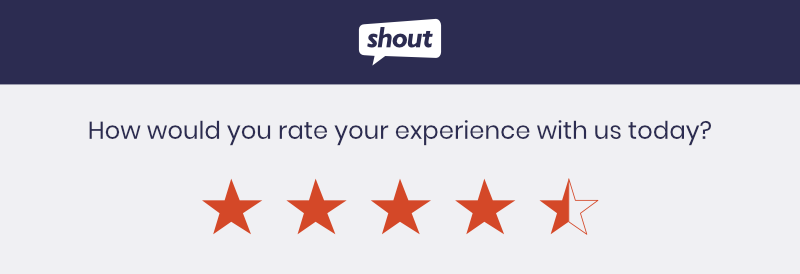 Measuring Customer Satisfaction With A Star Rating